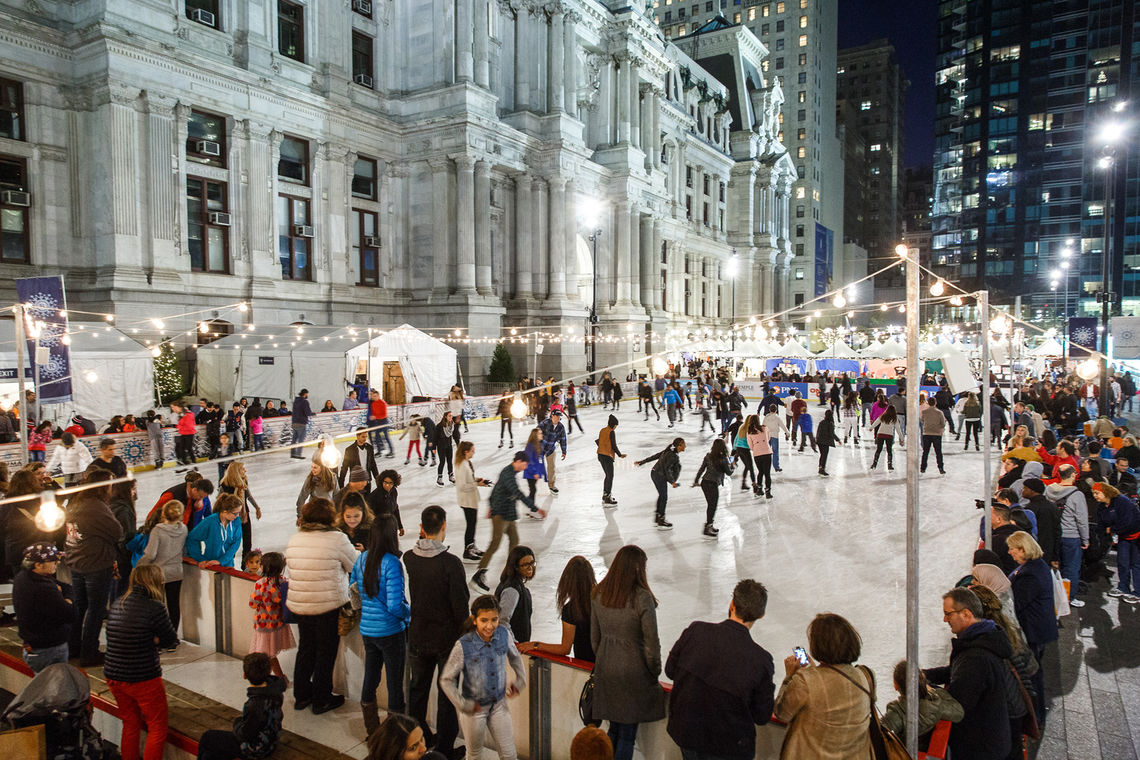 Image result for Winter at Dilworth Park