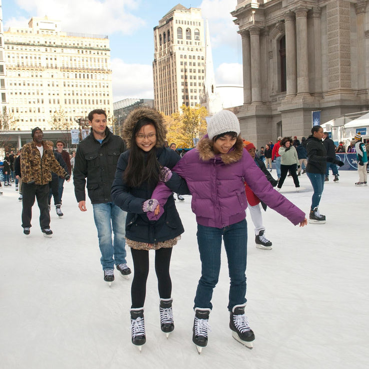 Center City District Free In February Kicks Off At Dilworth Park On Friday