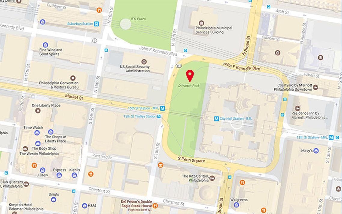 City Hall Virtual Tour |Philadelphia City Hall Map