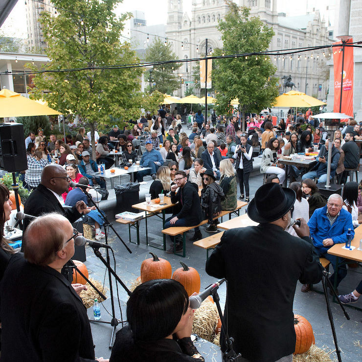 2016 Octoberfest at Dilworth Park