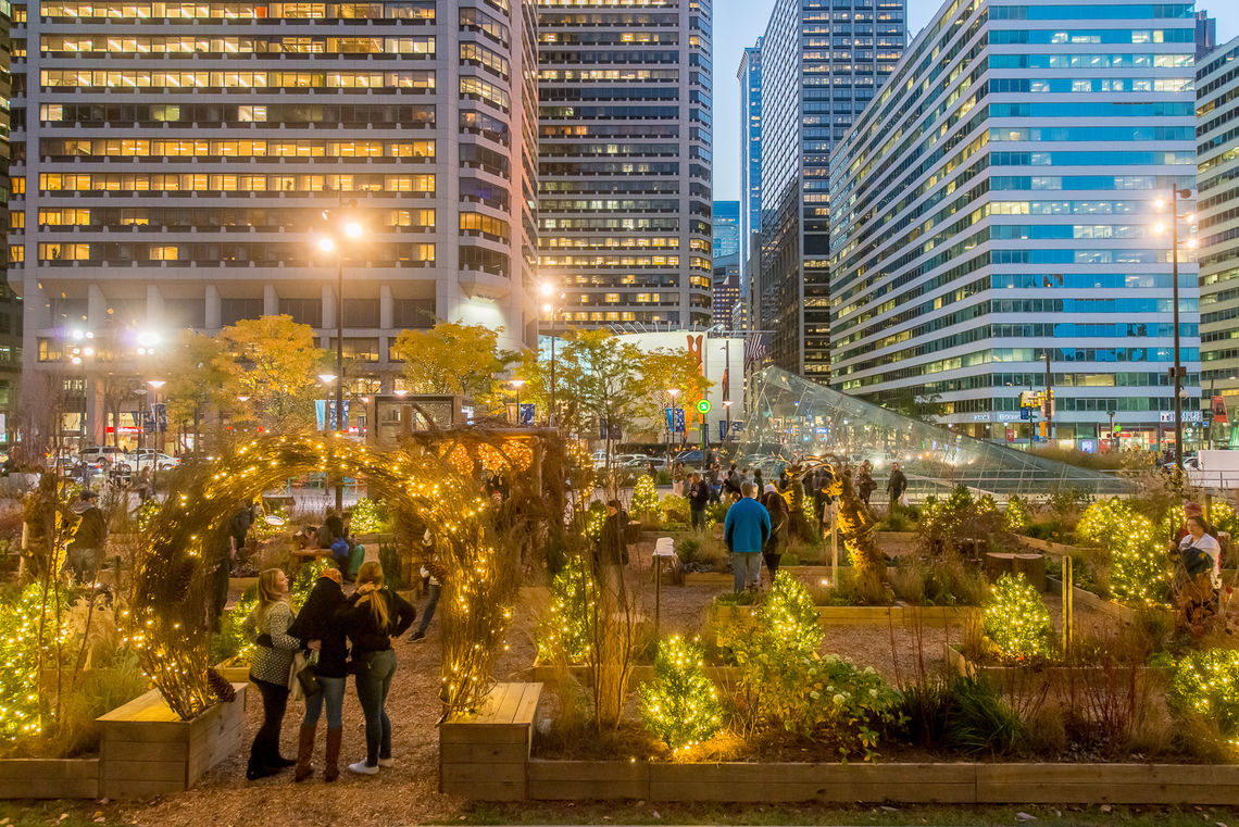 CCD Parks | Wintergarden at Dilworth Park