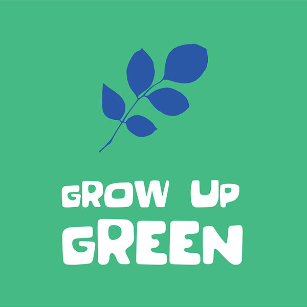 grown up green sq