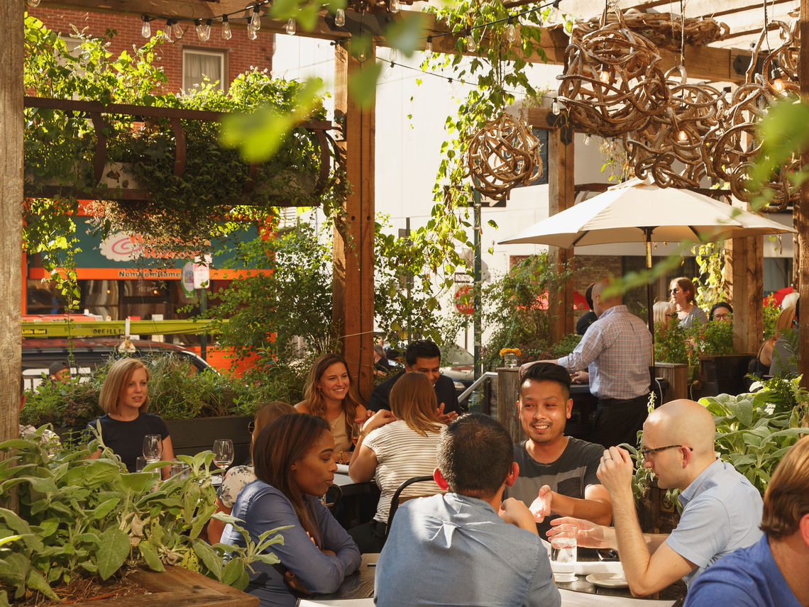 Center City District | Outdoor Seating 2018